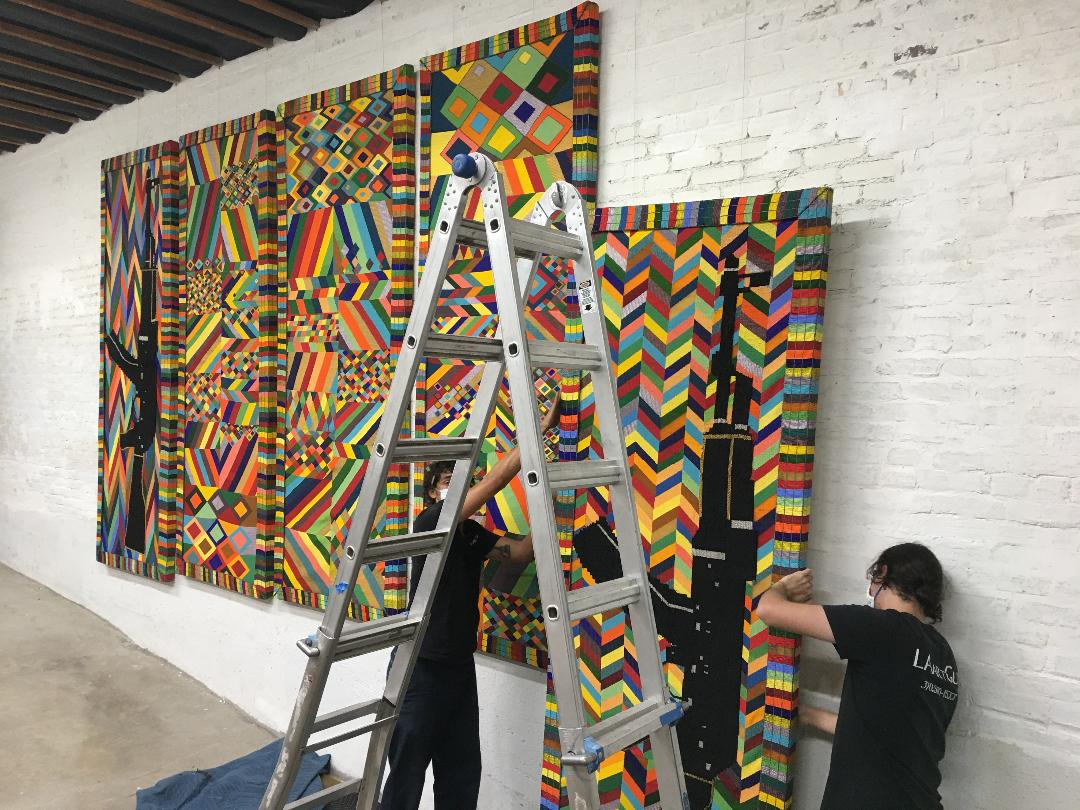 LA Art Guy Installation