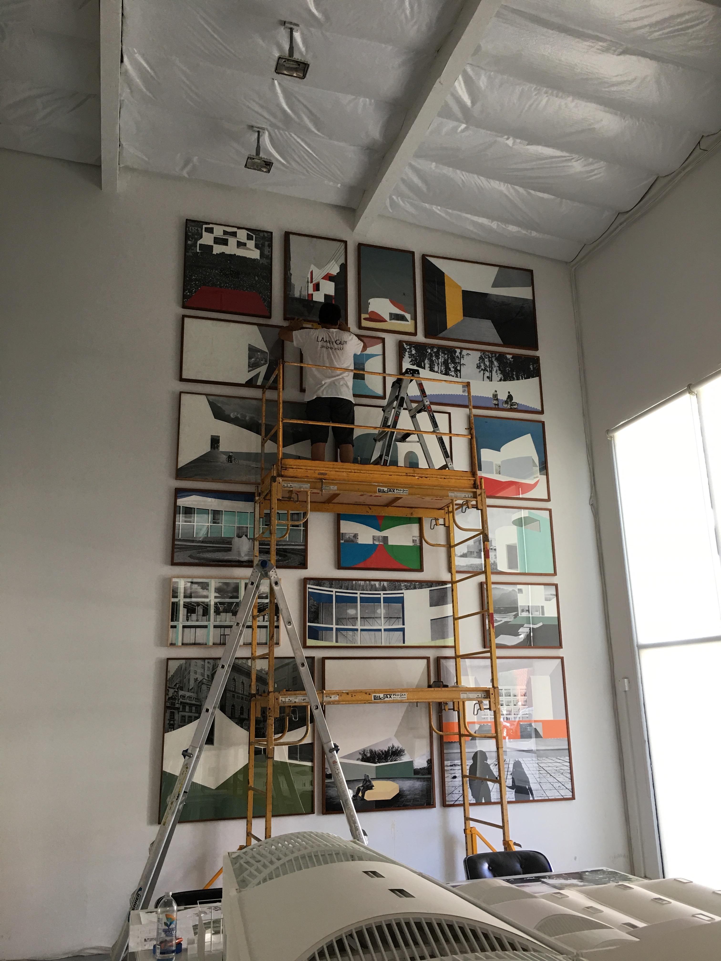LAArtGuy installation JohnstonMarkLee